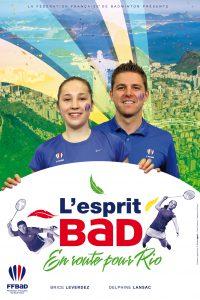 EspritRio-FFBAD-2016-Le badminton est aux jo rio 2016