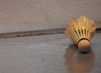fermeture badminton volant